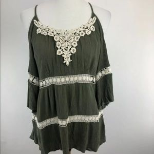 NEW Maurices Cold Shoulder Size XL Top